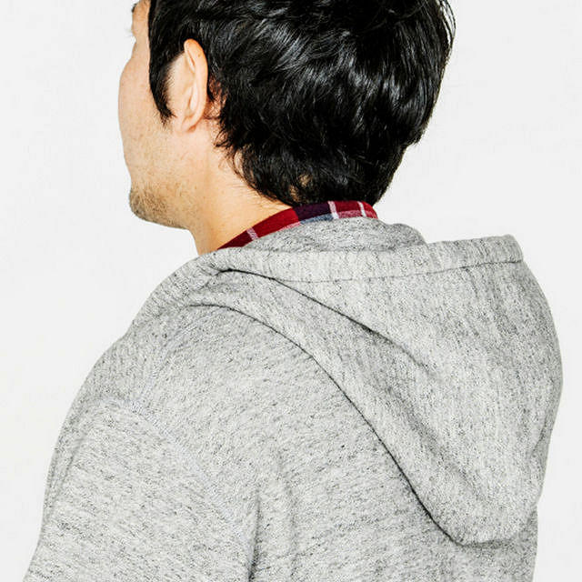 A three-dimensional sewing technique means the hood doesn't flop down when not in use-it just looks better!