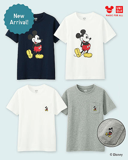 MICKEY STANDS GRAPHIC T-SHIRTS