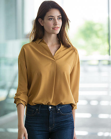 rayon blouses (select styles) + extra fine cotton shirts