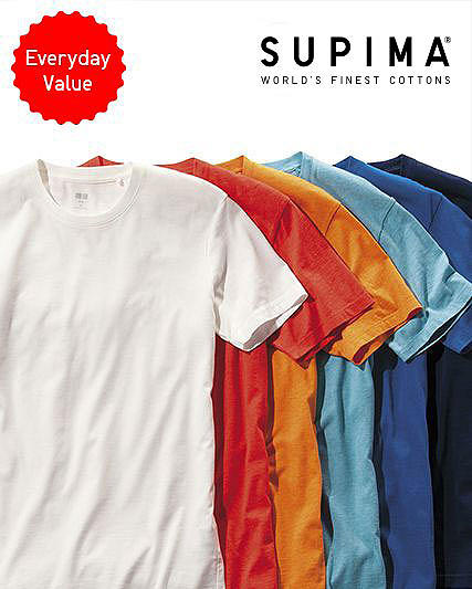 Supima Cotton Tees