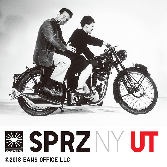 SPRZ NY Charles and Ray Eames: A collection showcasing the designs of Charles and Ray Eames.