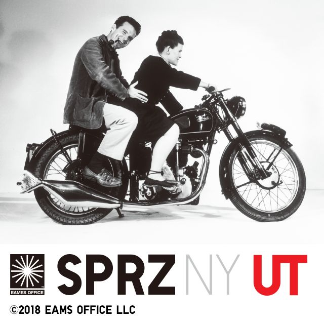 SPRZ NY CHARLES AND RAY EAMES: Charles and Ray Eames rank among the most influential and important designers of the 20th century.