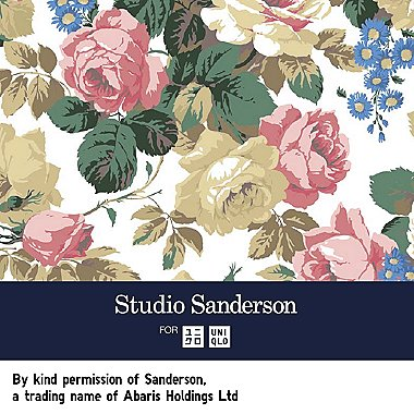 Studio Sanderson: New UT featuring the gorgeous floral prints of the iconic brand.