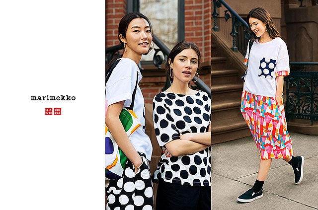 uniqlo has partnered with Marimekko on a new, special-edition LifeWear collection. Coming this March.
