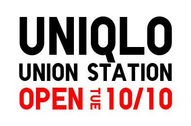 UNIQLO UNION STATION NEW STORE OPENING