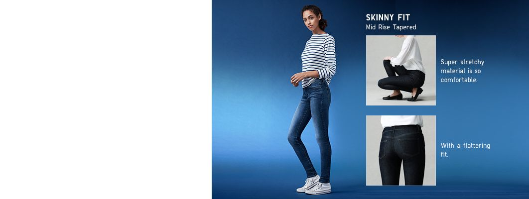 ultra stretch jeans category banner image
