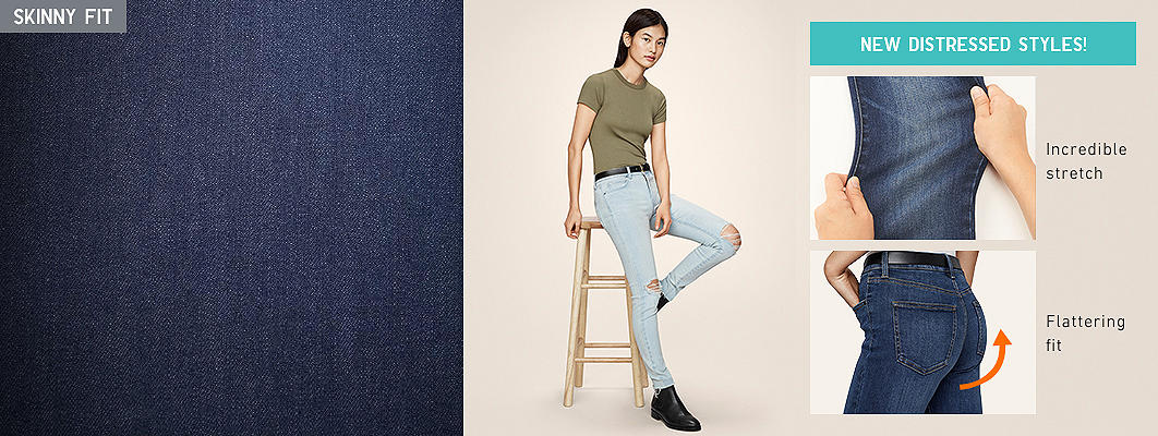 Women's Ultra Stretch Jeans