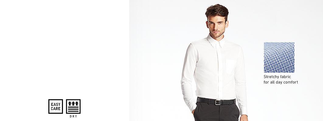 Men&-39-s Dress Shirts - UNIQLO US