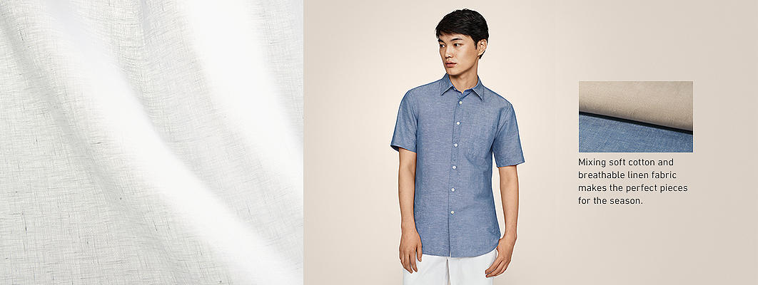 Linen Cotton Shirts