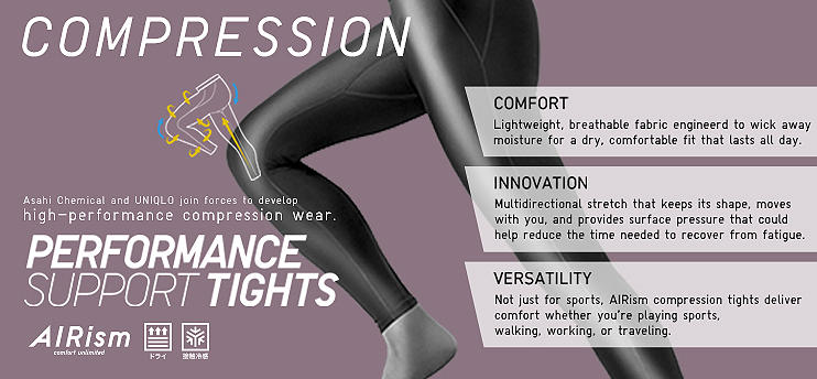 AIRism Performance Support Tights