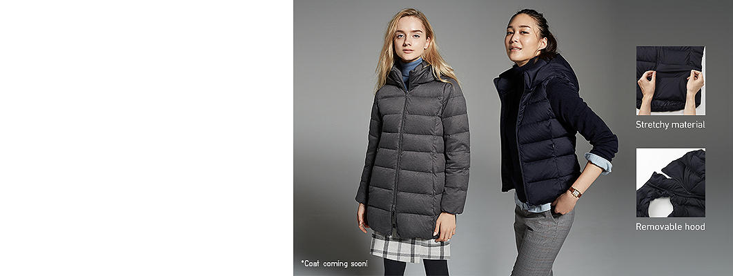Women's Outerwear and Blazers Down | UNIQLO US