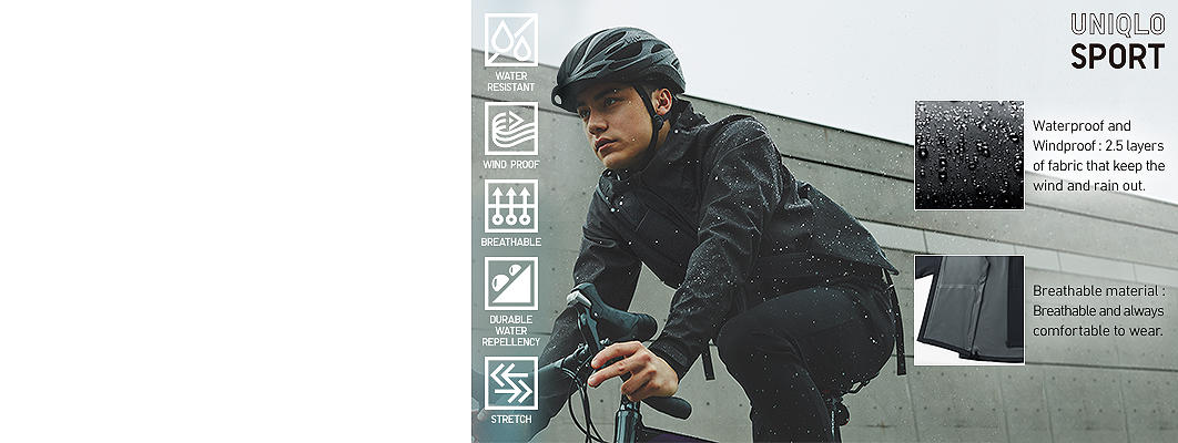 blocktech active outerwear