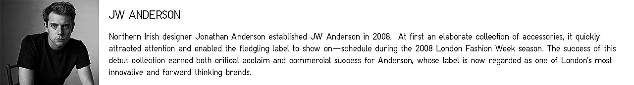 About JW Anderson