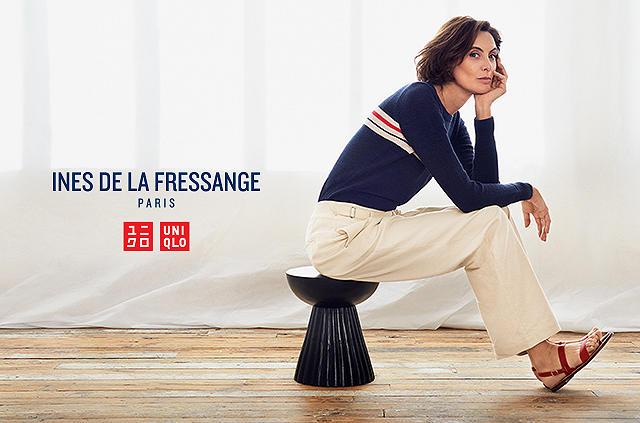ines de la fressange returns with all-new styles for a new season. Coming this Spring.