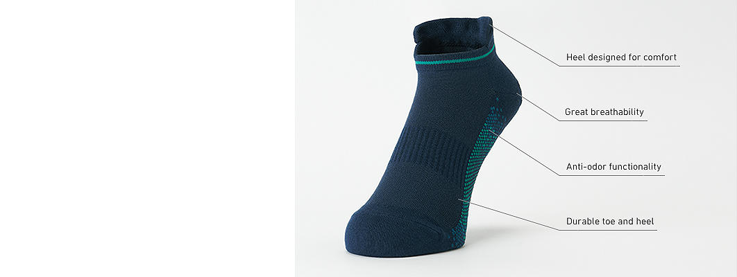 Anti-Odor Color Socks