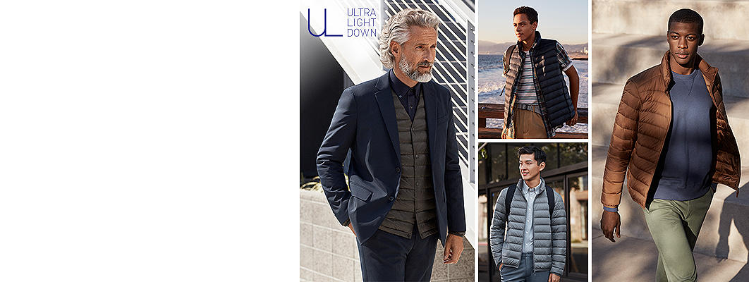 Uniqlo ultra light down quilted jacket