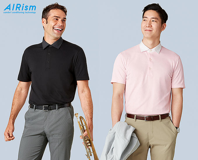 AIRISM POLO SHIRTS