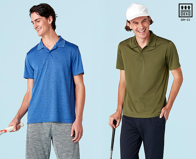 DRY-EX POLO SHIRTS