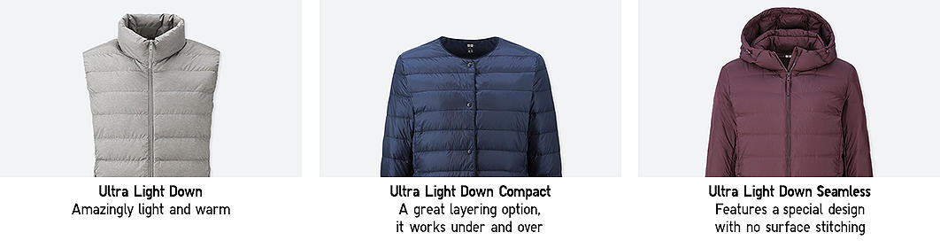ultra light down style information