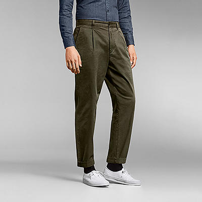 Wide-Fit Chino