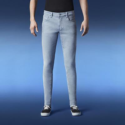 Skinny Fit Color Jeans