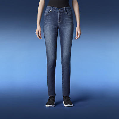 shop by feature - slim fit jeans - link to section