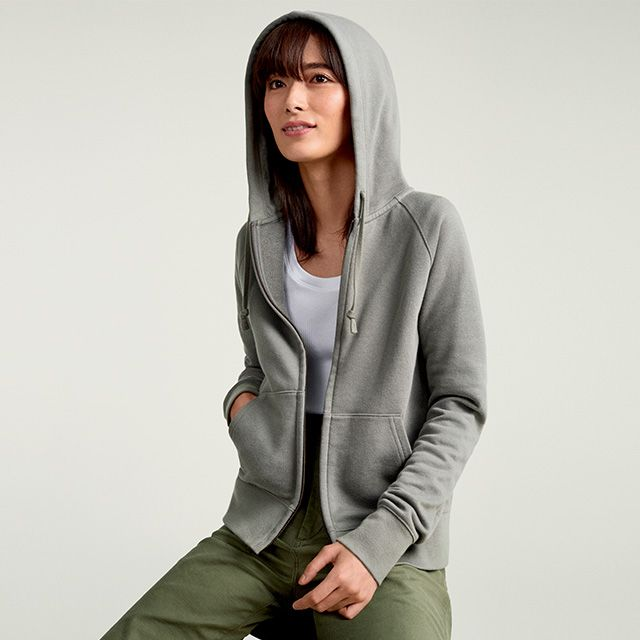 SWEAT FULL-ZIP HOODIE