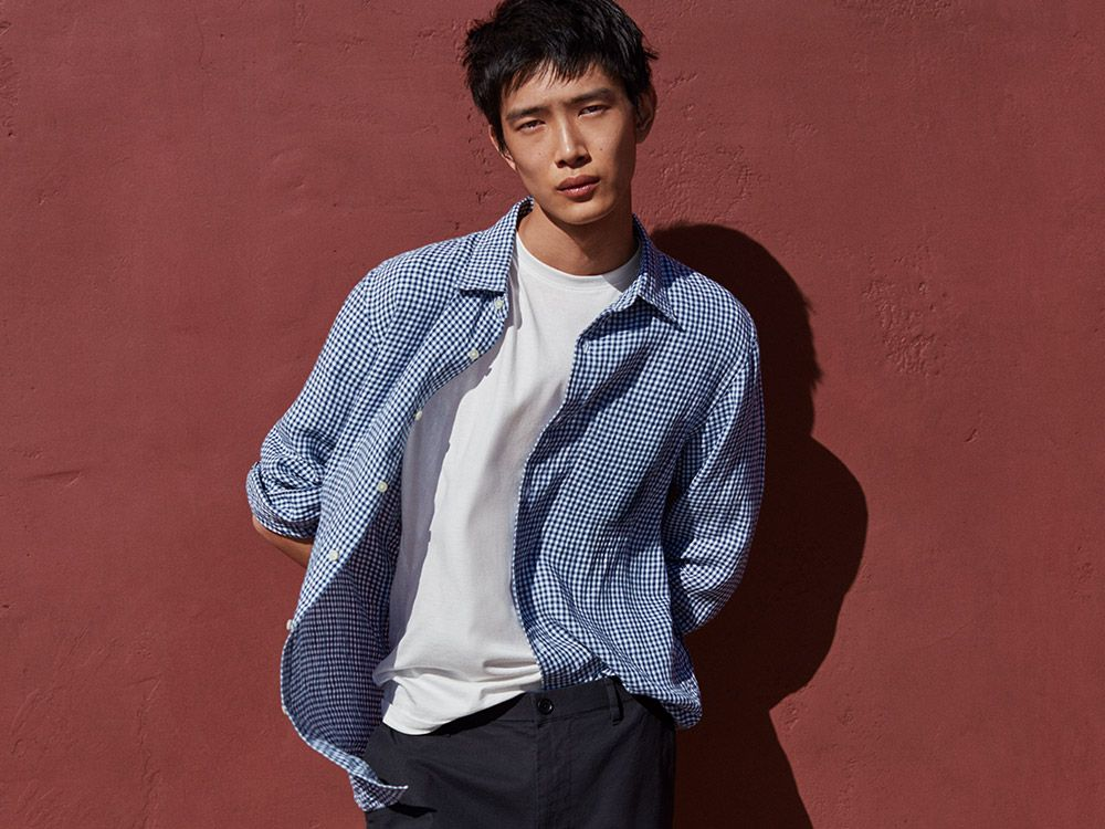 men premium linen shirts