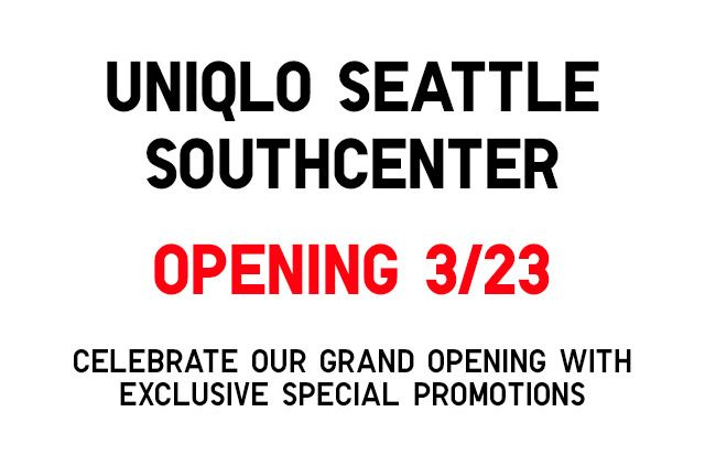 NEW! UNIQLO SOUTHCENTER STORE