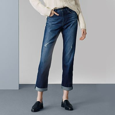shop by feature - boyfriend fit jeans - link to section