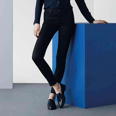shop by feature - ultra stretch jeans - link to section