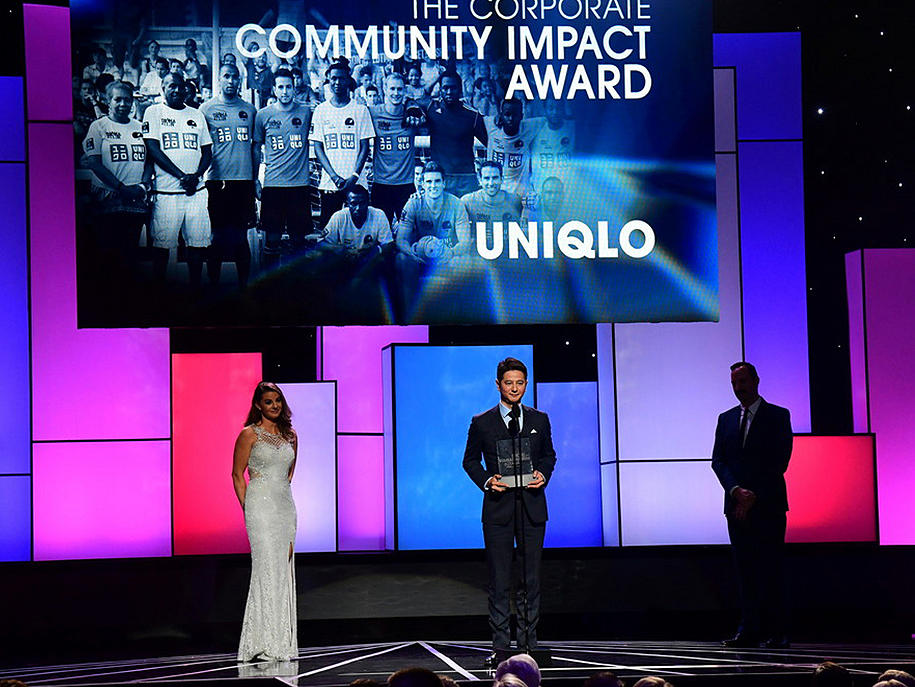 UNIQLO WINS CORPORATE COMMUNITY IMPACT AWARD AT ESPN HUMANITARIAN AWARDS