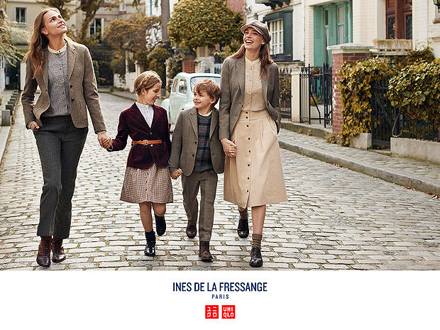 UNIQLO x INES DE LA FRESSANGE 2018 FALL/WINTER COLLECTION