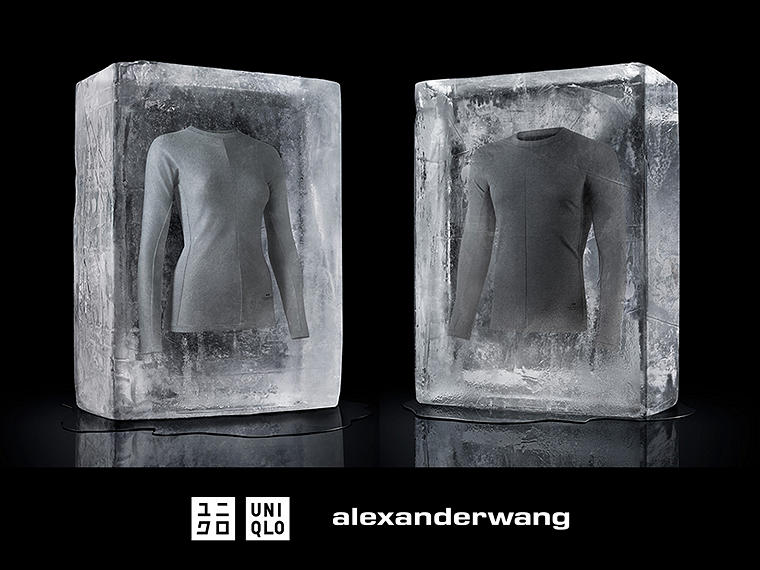 Alexander Wang re-envisions a new series of HEATTECH.