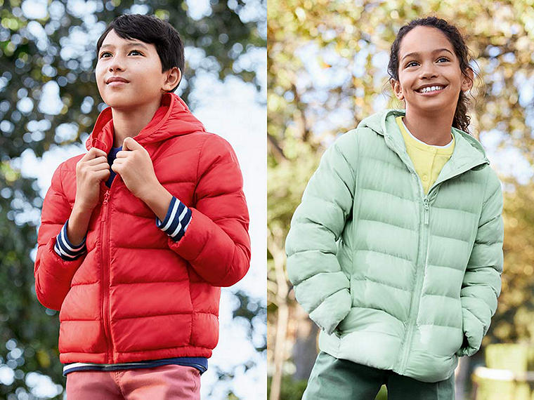 Our light, warm padded parkas have a new hue! Celebrate and stock up.