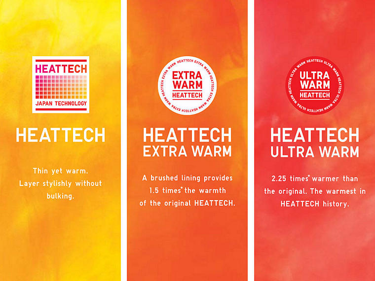 THE RIGHT HEATTECH FOR YOU