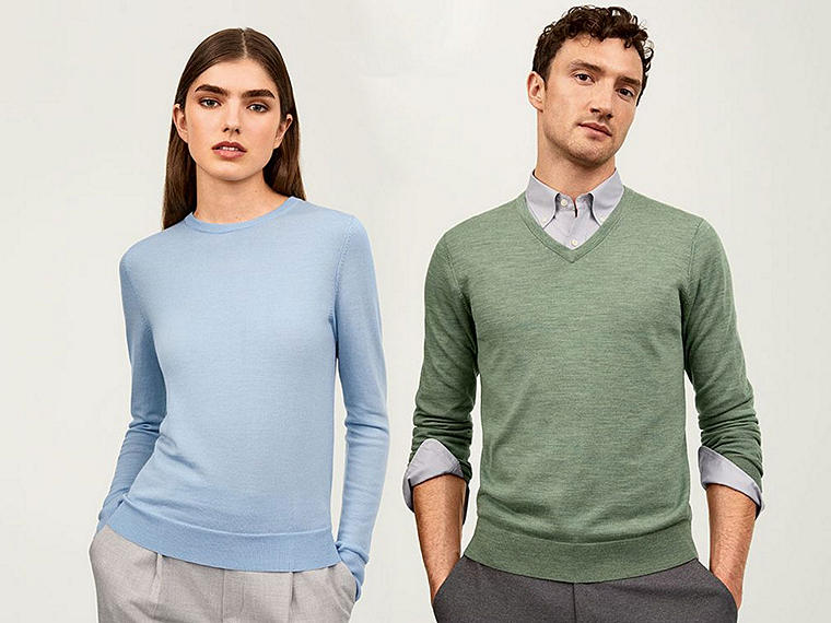 Thin, soft, and machine-washable sweaters, all in brand-new colors youll love.