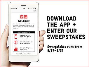 DOWNLOAD THE APP + ENTER OUR SWEEPSTAKES