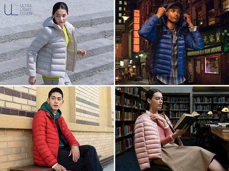 Light, warm jackets and vests that are easy to carry with you in case of sudden weather.