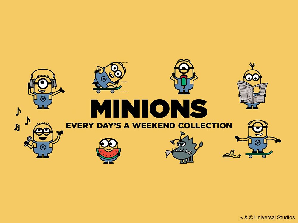Minions_Every_Days_A_Weekend_Collection Main Image