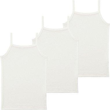 Toddler Mesh Camisole, 3-Pack, WHITE, medium