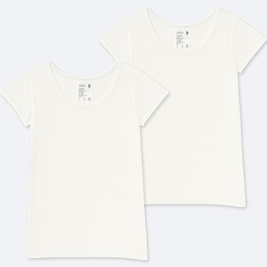 TODDLER AIRISM MESH T-SHIRT 2-PACK, WHITE, medium