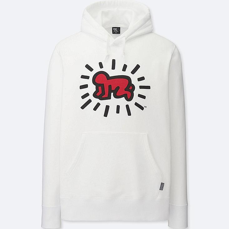MEN SPRZ NY SWEAT PULLOVER HOODIE, WHITE, large