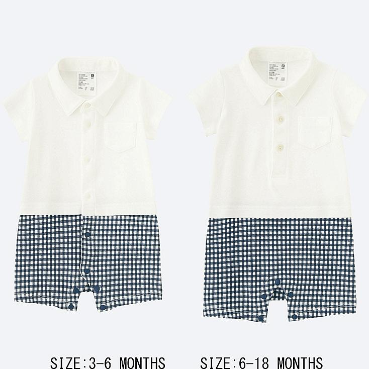 BABY COORDINATED SHORT ALL, WHITE, large