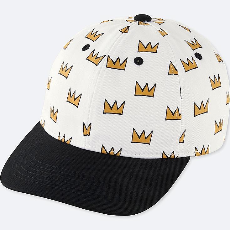 MEN SPRZ NY  CAP (JEAN-MICHEL BASQUIAT), WHITE, large