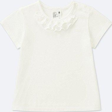 TODDLER CREWNECK SHORT-SLEEVE T-SHIRT, WHITE, medium