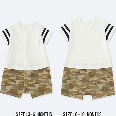 BABY COORDINATED SHORT-ALL, WHITE, medium