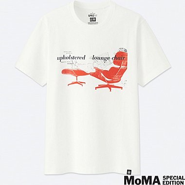 SPRZ NY EAMES SHORT-SLEEVE GRAPHIC T-SHIRT, WHITE, medium
