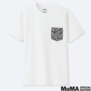SPRZ NY SHORT-SLEEVE GRAPHIC T-SHIRT (SOL LEWITT), WHITE, medium