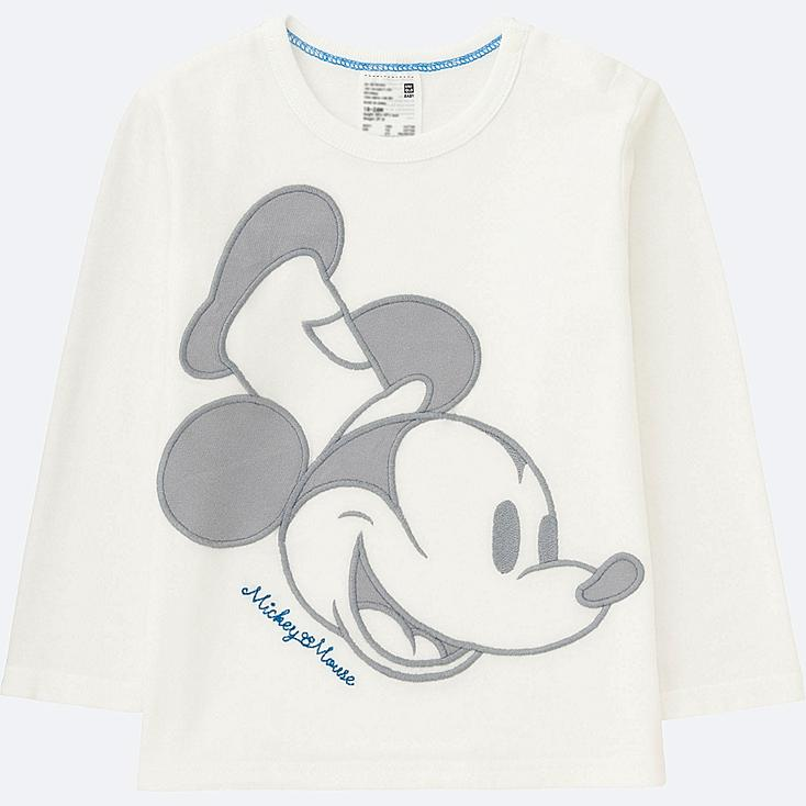 TODDLER DISNEY COLLECTION LONG-SLEEVE CREWNECK T, OFF WHITE, large